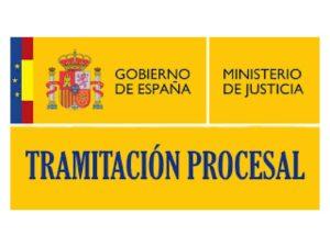 Tramitación Procesal interna rectifica aprobados