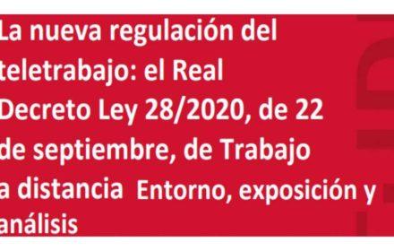 teletrabajo Real Decreto análisis UGT