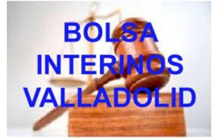 Actualización Bolsa Interinos Gerencia Valladolid
