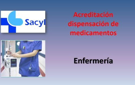 dispensacion medicamentos enfermería