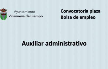 Ayto Villanueva plaza aux admvo ene-2021