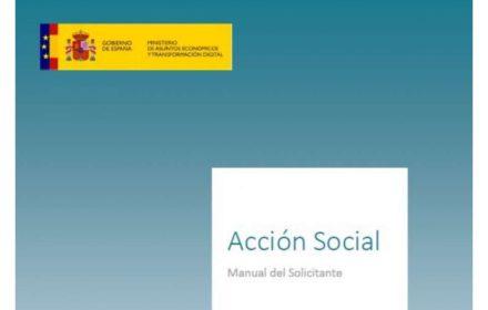 Convocado Plan Acción Social 2021