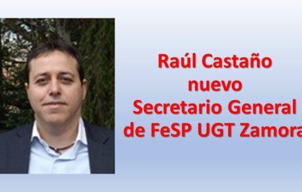 Raúl Castaño secr gral fesp