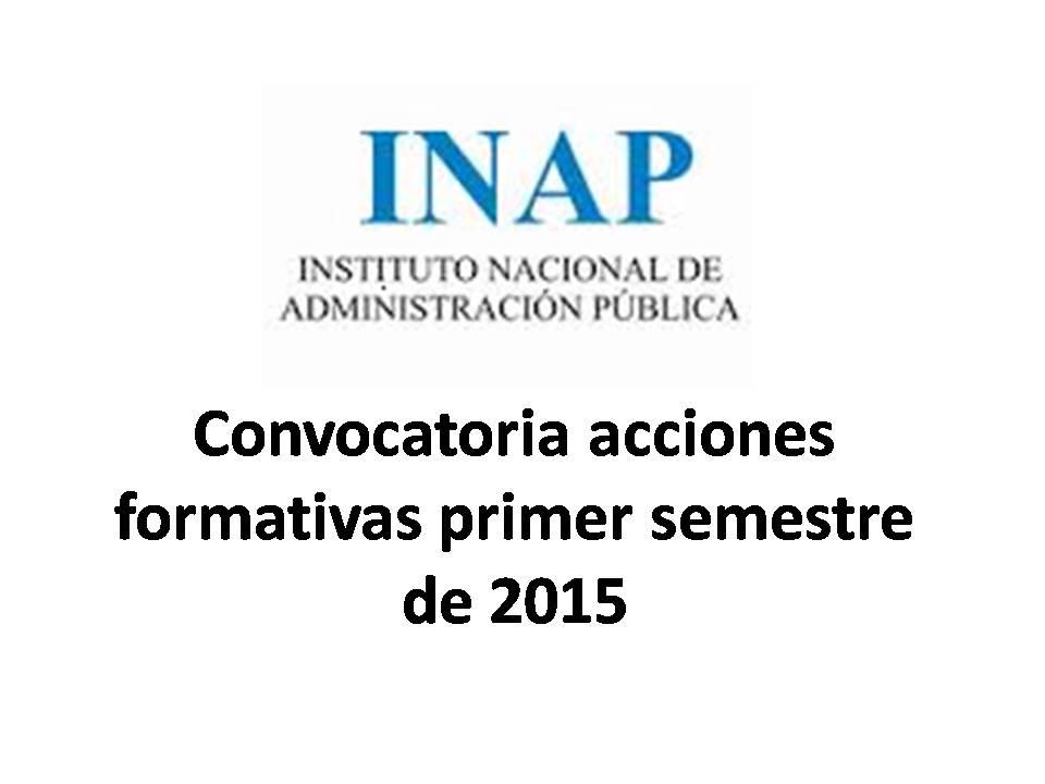 Convocatoria eclap 1 semestre 2015
