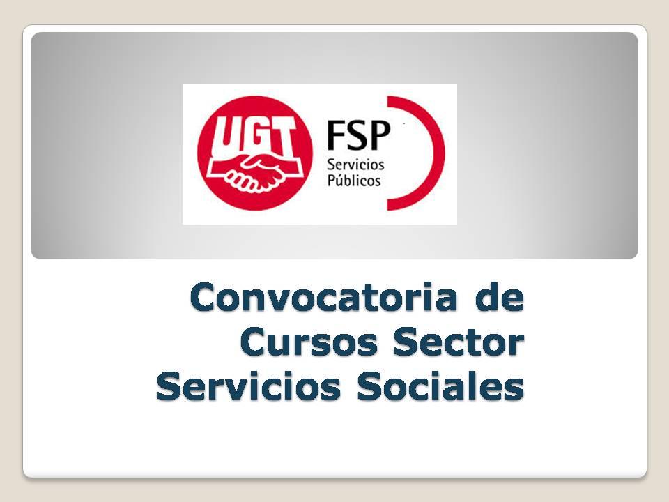 Convocatoria de Cursos Servicios sociales_2015