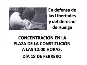 En defensa  Libertades y del derecho 2015-02-18