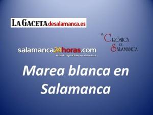 Marea blanca en Salamanca