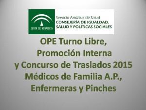 OPE Turno Libre,