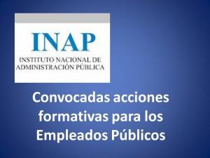 Convocadas acciones formativas para los Empleados Públicos