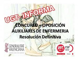 resolucion definit aux enfer comunidad valenciana