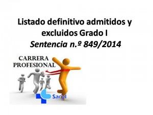 Listado definitivo admitidos Grado I Sentencia n.º 849_2014