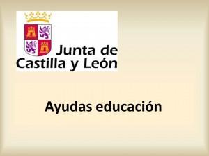 ayudas educacion 2015