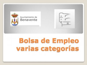 Bolsa de Empleo nov 2015