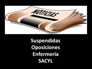 suspendidas oposiciones segun prensa