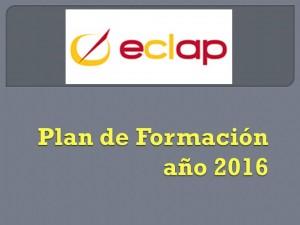 Plan de Formación 2016 eclap