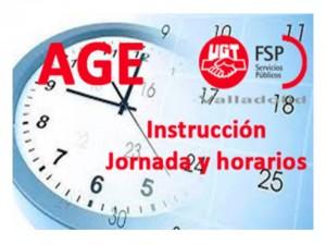 instruccion jornada y horarios dic-2015
