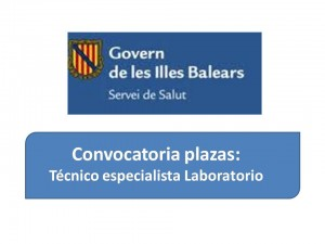 Ope Islas Baleares tecnico laboratorio