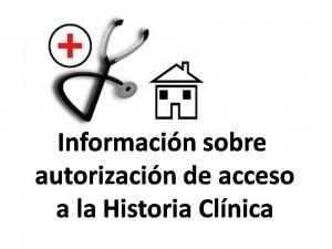 Información sobre acceso historia clinica