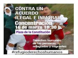 concentracion gral 16 marzo refugiados