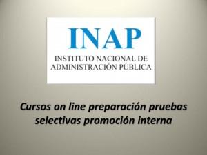 Cursos on line preparación pruebas selectivas promoción interna