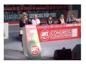 Inaugurado el Congreso Constituyente de FeSP-UGT