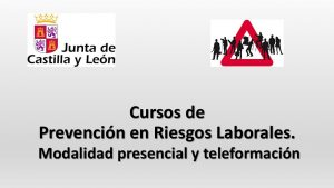 Cursos PRL presencia y teleformacion jun-2016