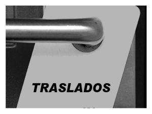 Concurso de traslados - Información 2015 - 2016