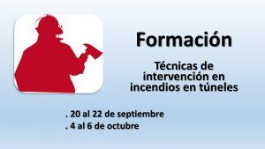 Curso de Técnicas Intervención en Incendios en Túneles  jul-2016