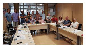 Reunión Portavoces del Convenio Único