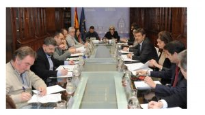 1 Reunión Ministro Justicia proyecto nueva Legislatura