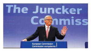Carta a Juncker de TUNED-EPSU y EUPAE