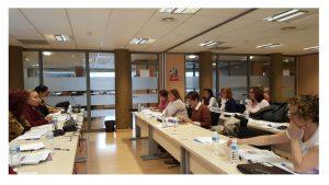 Reunión de trabajo Mujer y Políticas Sociales