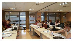 Reunión trabajo Mujer y Políticas Sociales