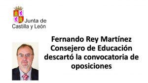 consejero educacion descartó oposiciones feb-2017