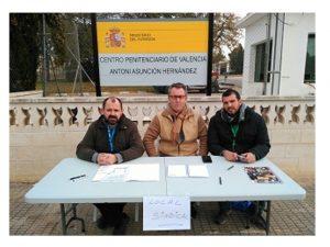 dirección Picassent expulsa Sindicatos Complejo Penitenciario