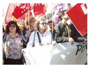 65 trabajadores enseñanza 85 alumnado secundan huelga