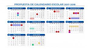 Calendario escolar criterios pedagógicos