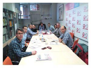 Reunión de trabajo delegados de prisiones