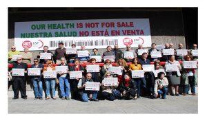 se suma campaña defensa salud pública para todos