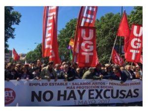 Concentración de Delegados AGE Madrid ante Función Pública 1 Junio