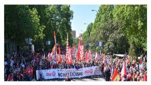 Decenas miles personas a la calle recuperar derechos
