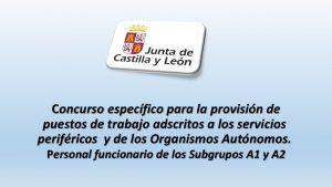 Concurso provisión puestos trabajo Personal funcionario A1 y A2