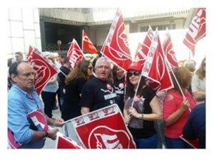 Trabajadores AGE se movilizan recuperación derechos