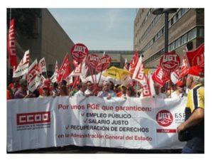 reivindica Valladolid incremento salarial 3 PGE 2018