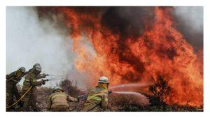 sindicato bomberos UGT lamenta pérdidas humanas incendio Portugal