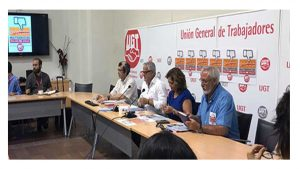 UGT contra malas prácticas empresas multiservicios