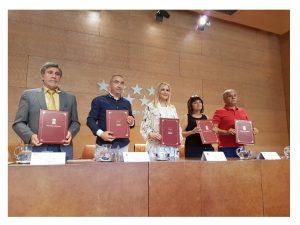 UGT firma Acuerdo Sectorial ámbito Justicia