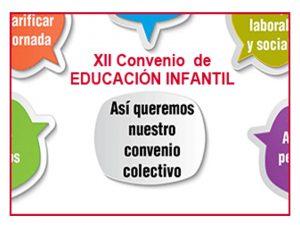 XII Convenio Colectivo estatal centros asistencia y educación infantil
