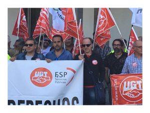 Éxito concentración prisiones Asturias