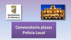 Convocatoria plazas policia sep-2017
